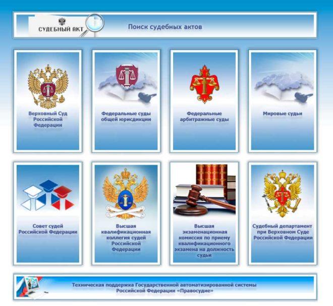 Банк судебных решений судов общей