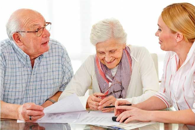 Условия приема в дом престарелых